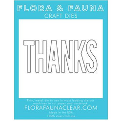 Large Thanks Typed, Flora & Fauna Dies - 725835782784