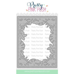 Tropical Frame, Pretty Pink Posh Dies -