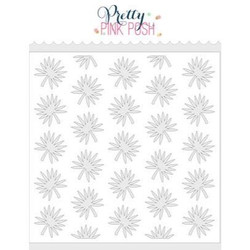 Tropical Leaves, Pretty Pink Posh Stencils -