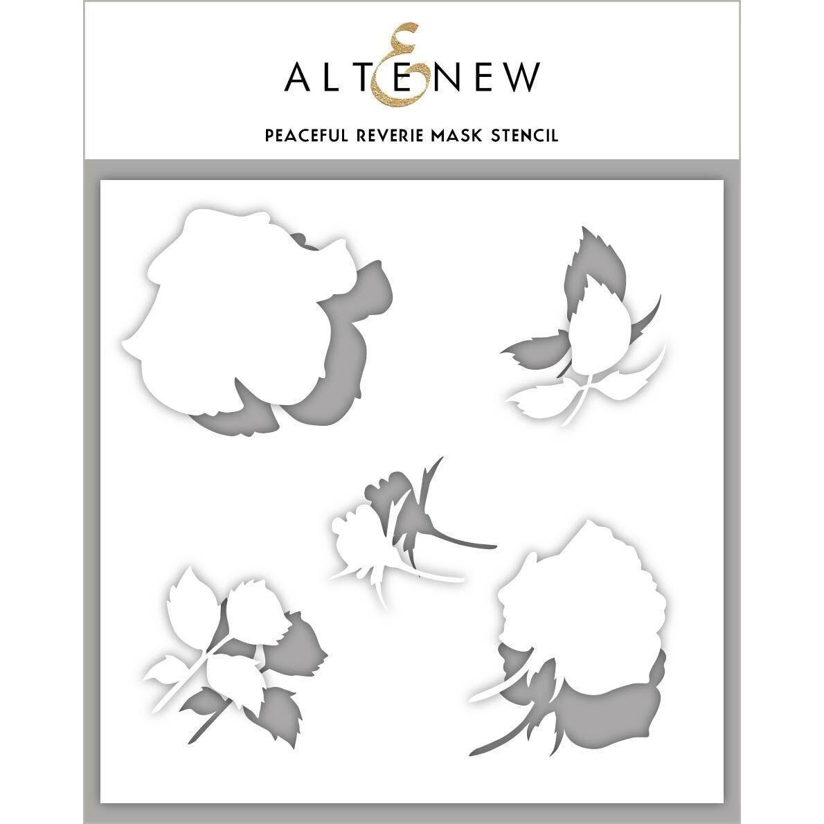 Peaceful Reverie, Altenew Mask Stencil - 704831301663