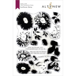 Sunflower Daisy, Altenew Clear Stamps - 704831301717