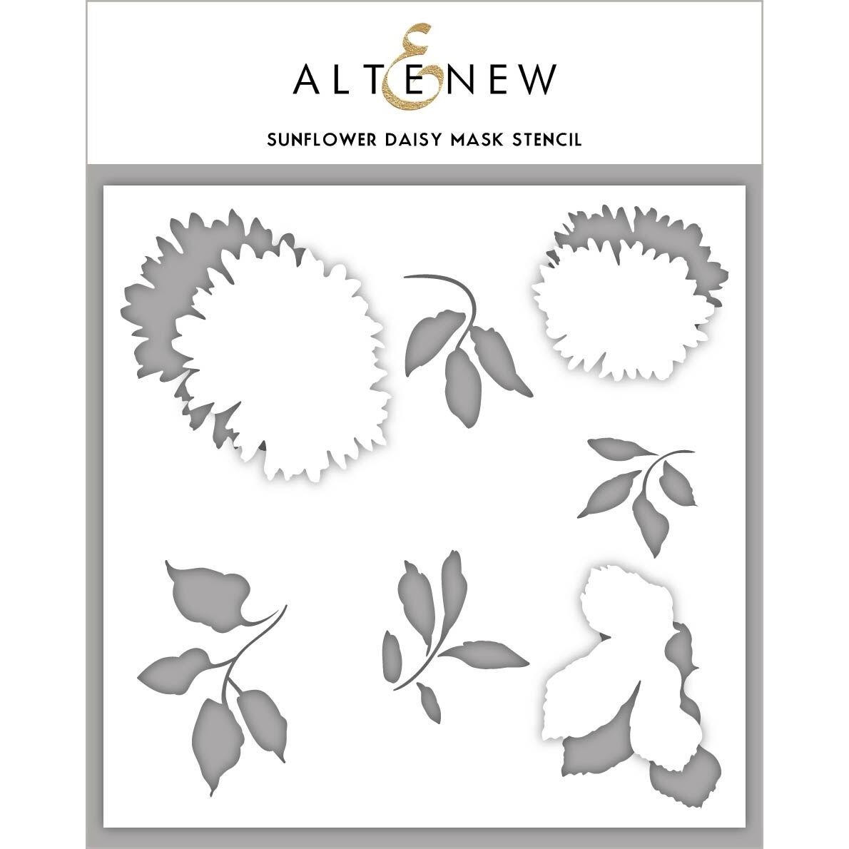 Sunflower Daisy, Altenew Mask Stencil - 704831301731