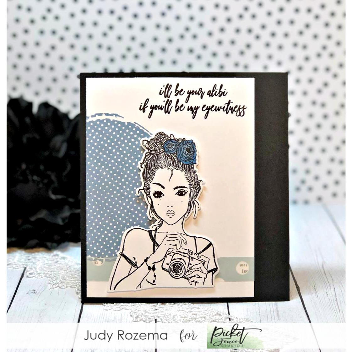 Natural State of Sarcasm, Picket Fence Studios Clear Stamps -