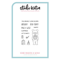 Kobi Makes A Wish, Studio Katia Clear Stamps -