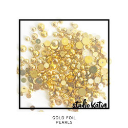 Gold Foil, Studio Katia Pearls -