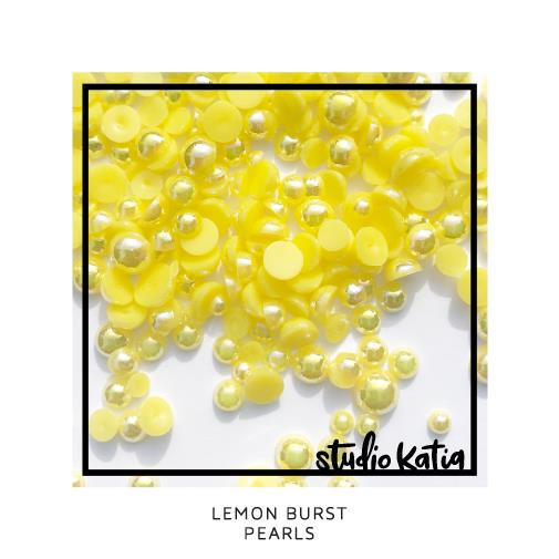 Lemon Burst, Studio Katia Pearls -