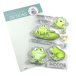 Frogs, Gerda Steiner Designs Clear Stamps -
