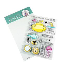 Deeply, Gerda Steiner Designs Clear Stamps -