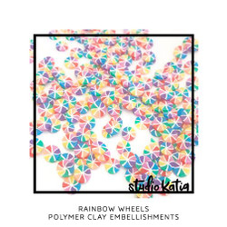 Rainbow Wheels, Studio Katia  Embellishments -