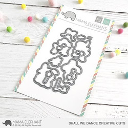 Shall We Dance, Mama Elephant Creative Cuts -