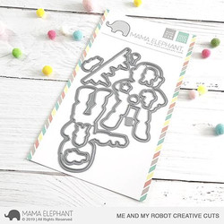 Me And My Robot, Mama Elephant Creative Cuts -