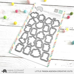 Little Panda Agenda, Mama Elephant Creative Cuts -