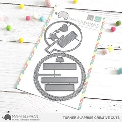 Turner Surprise, Mama Elephant Creative Cuts -