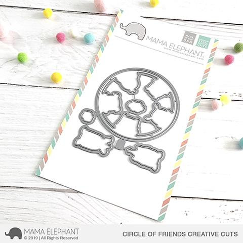 Circle Of Friends, Mama Elephant Creative Cuts -
