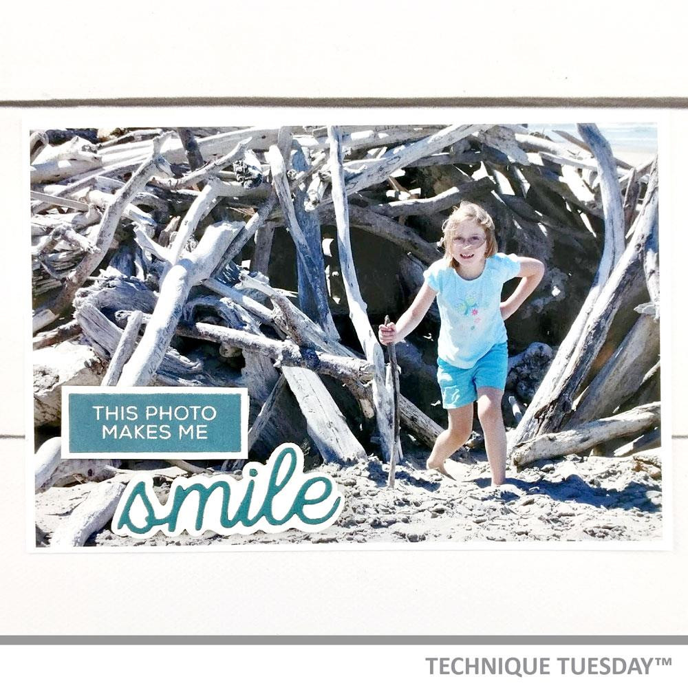 Layered Smile, Technique Tuesday Dies - 811784027899