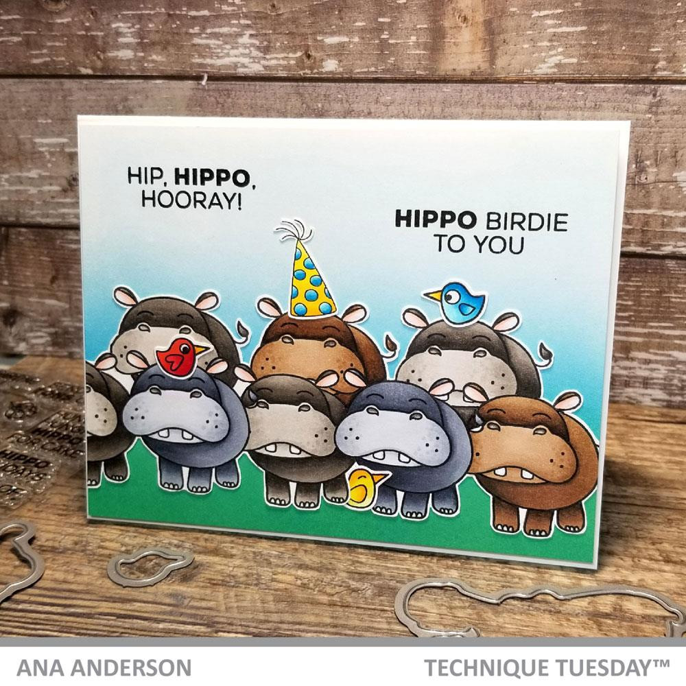 Helen & Harry The Hippos, Technique Tuesday Dies - 811784027936