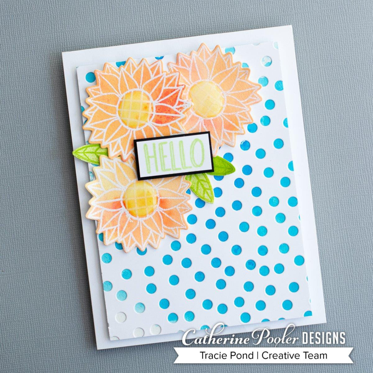 Whimsical Blooms, Catherine Pooler Clear Stamps - 8.19447E+113