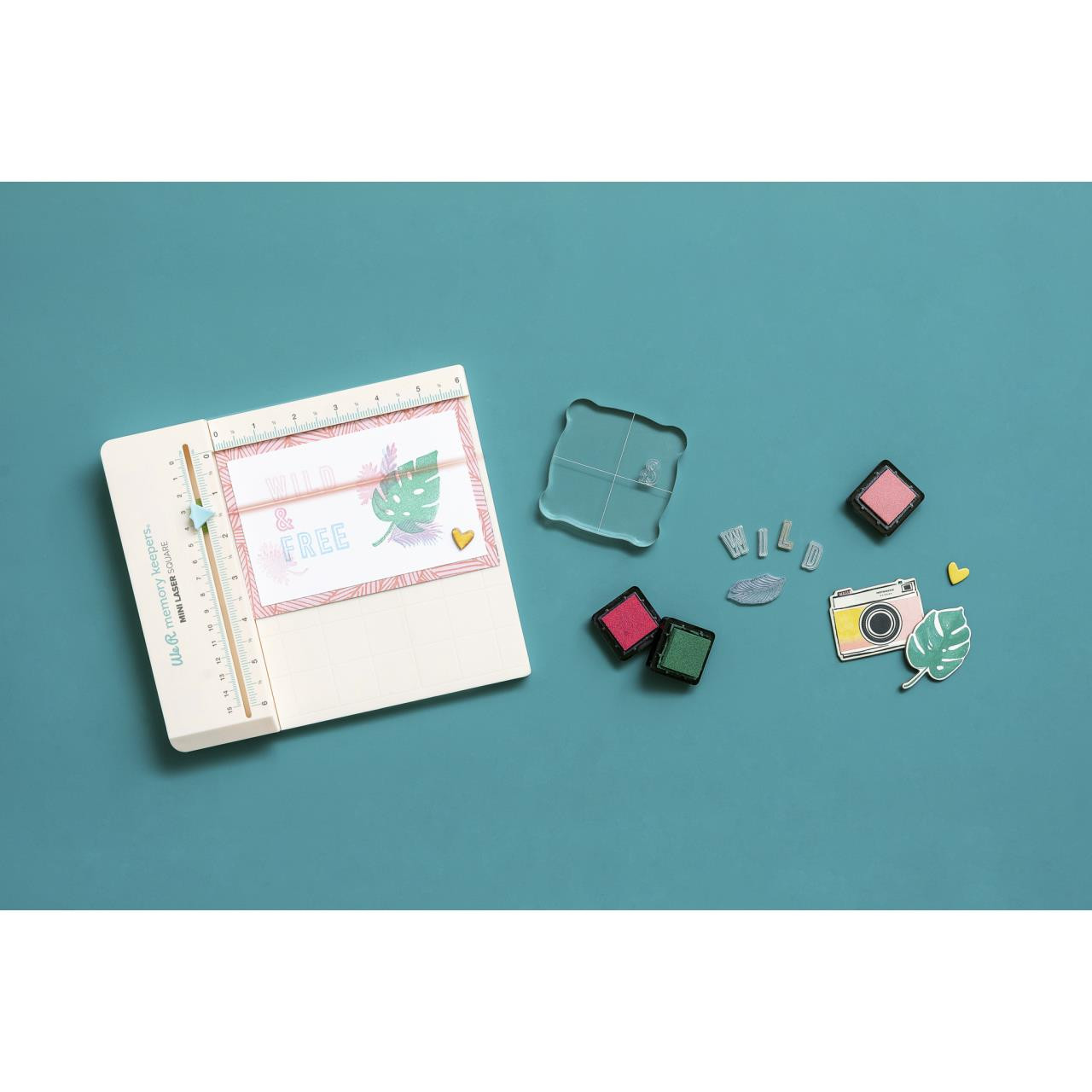 We R Memory Keepers Mini Laser Square - 633356606246