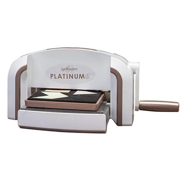 Platinum 6 Die Cutting And Embossing Machine, Spellbinders Tools - 813233025005