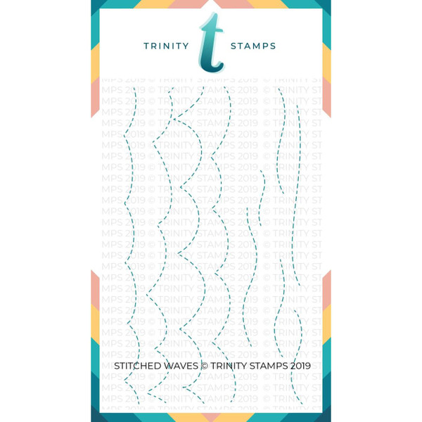 Stitched Waves, Trinity Stamps Dies -