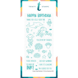 Ocean Reef Builder, Trinity Stamps Clear Stamps -