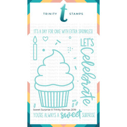Sweet Surprise, Trinity Stamps Clear Stamps -