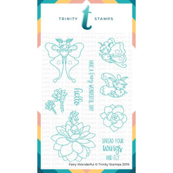 Fairy Wonderful, Trinity Stamps Clear Stamps -