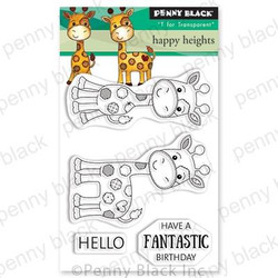 Happy Heights, Penny Black Clear Stamps - 759668305483