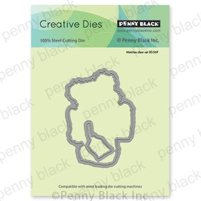 Pawsome Present Cut Out, Penny Black Dies - 759668515394