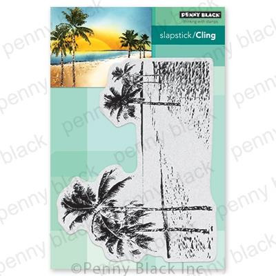 Paradise, Penny Black Cling Stamps - 759668406912