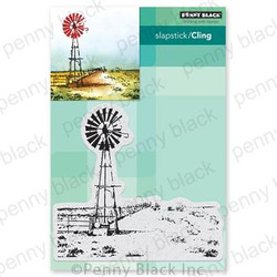 Country Life, Penny Black Cling Stamps - 759668406943
