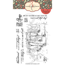 Runsational, Colorado Craft Company Clear Stamps - 857287008539