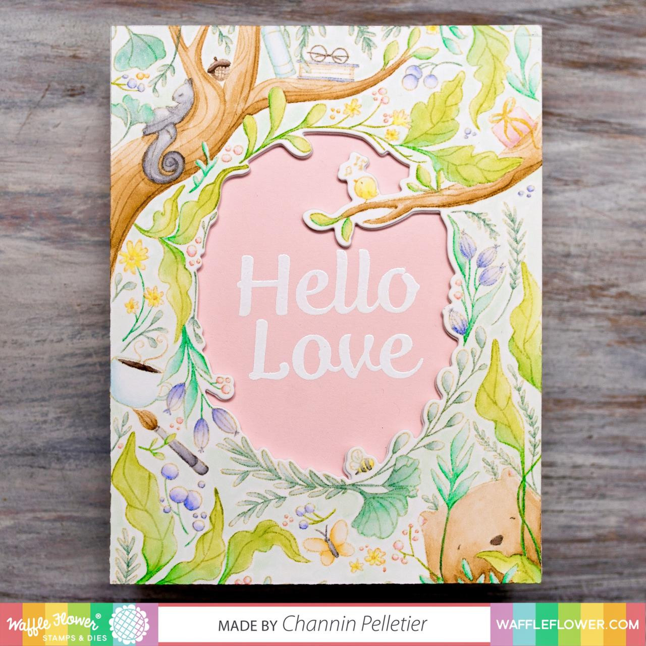 Fall Dreams, Waffle Flower Clear Stamps - 644216556427