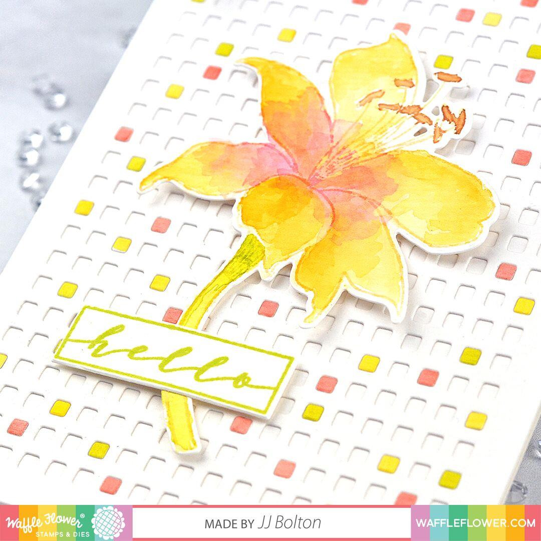 Bouquet Builder 4, Waffle Flower Clear Stamps - 644216556229