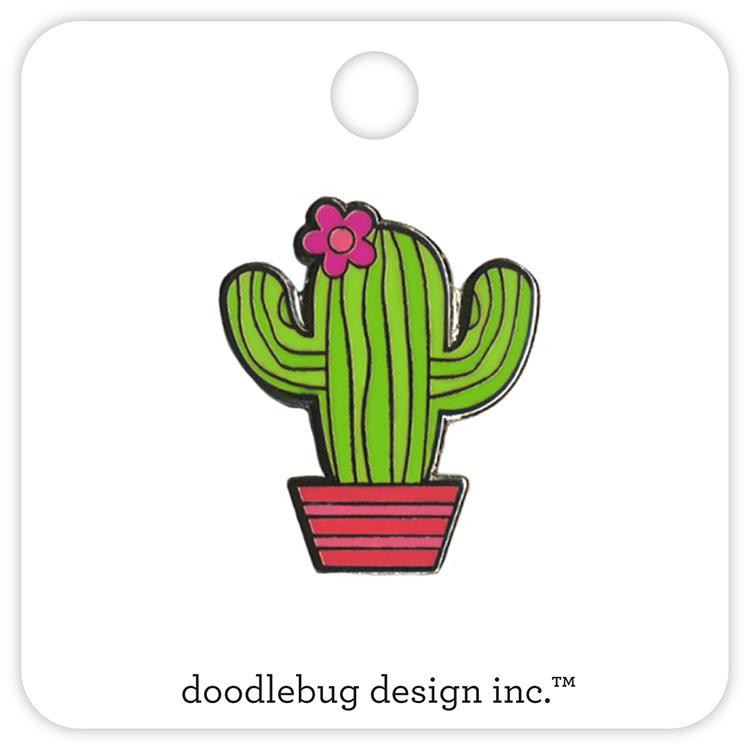 Desert Bloom, Doodlebug Collectible Pin - 842715053045