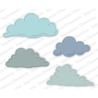 Stitched Clouds, Impression Obsession Dies -
