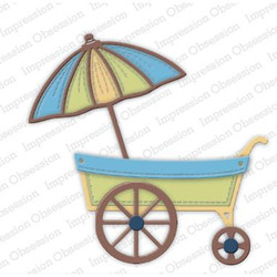 Flower Cart, Impression Obsession Dies -