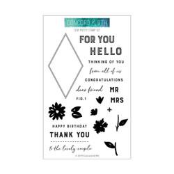 Sew Pretty, Concord & 9th Clear Stamps - 902224005352