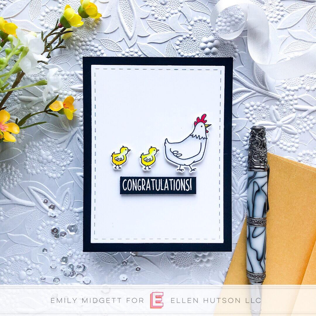 Good Egg By Brandi Kincaid, Essentials By Ellen Clear Stamps -