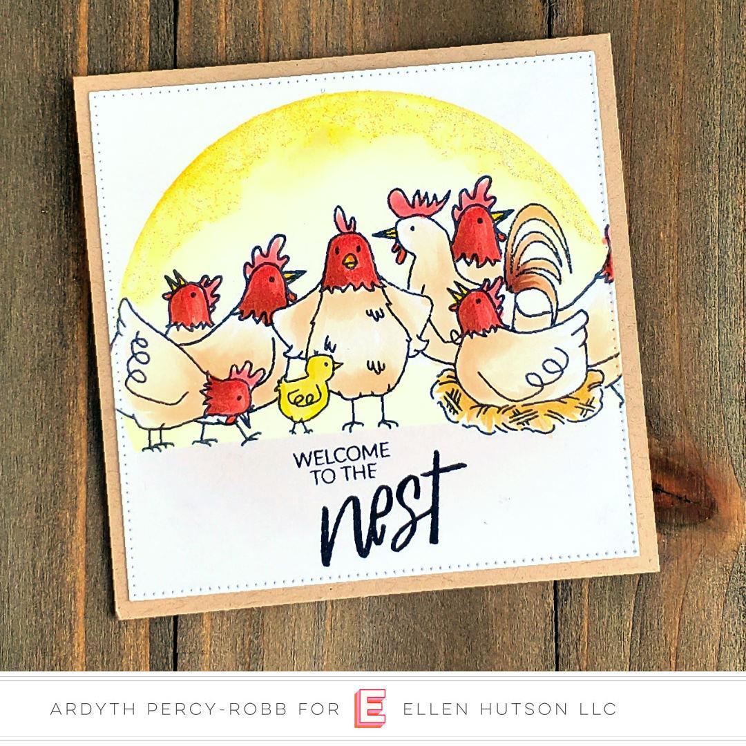 Good Egg By Brandi Kincaid, Essentials By Ellen Clear Stamps -