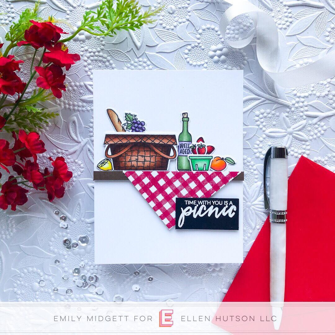 Life's A Picnic By Brandi Kincaid, Essentials By Ellen Clear Stamps -
