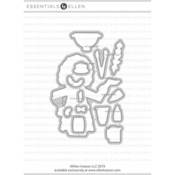 Leading Ladies - Cooking Lady By Brandi Kincaid, Essentials By Ellen Designer Dies -