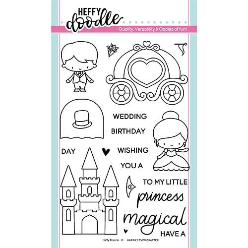 Happily Ever Crafter, Heffy Doodle Clear Stamps - 5060540221445