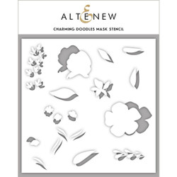 Charming Doodles, Altenew Mask Stencil - 704831302226