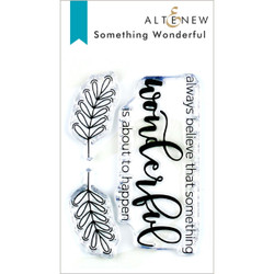 Something Wonderful, Altenew Clear Stamps - 704831302363