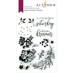 Sophisticated Wreath, Altenew Clear Stamps - 704831302394