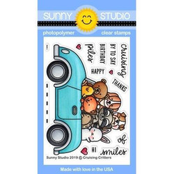 Cruising Critters, Sunny Studio Clear Stamps -
