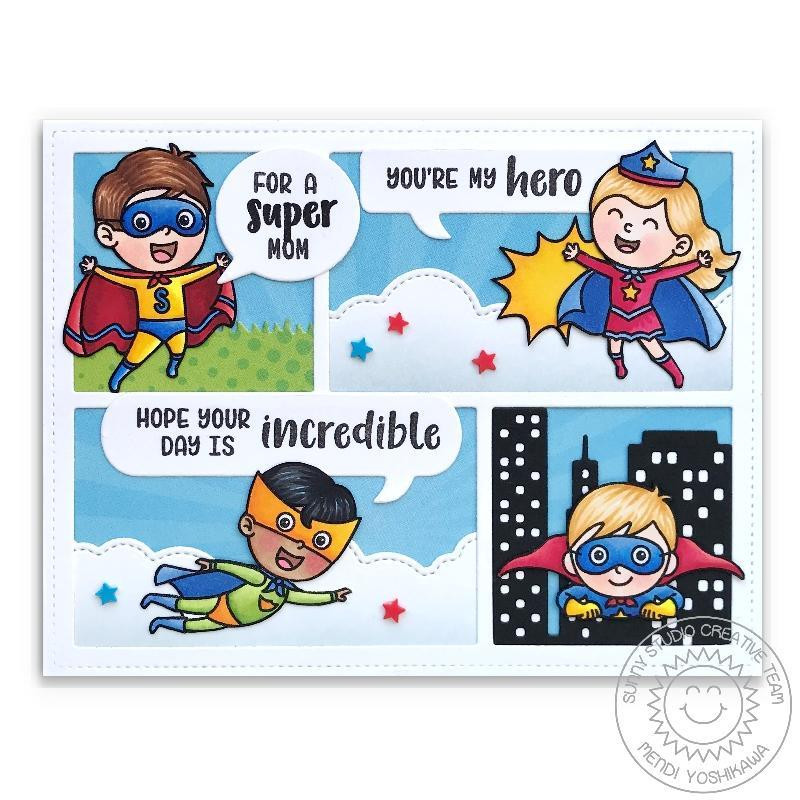 Comic Strip Speech Bubbles, Sunny Studio Dies -