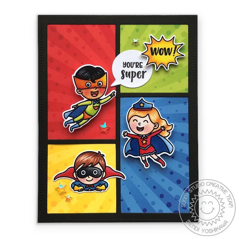 Super Duper, Sunny Studio Clear Stamps -