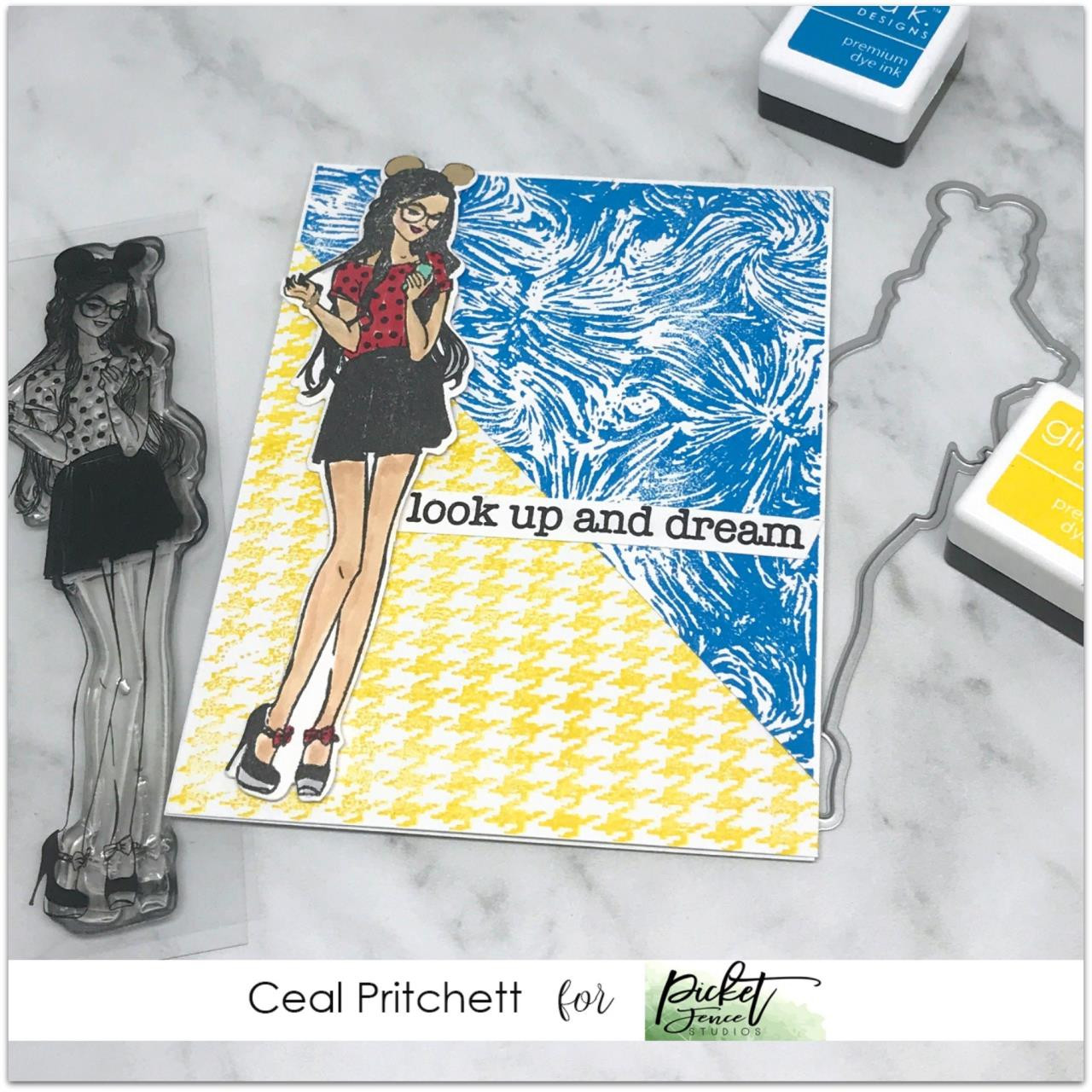 BFF Marie, Picket Fence Studios Clear Stamps - 745557994661